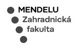MENDELU - Zahradnická fakulta